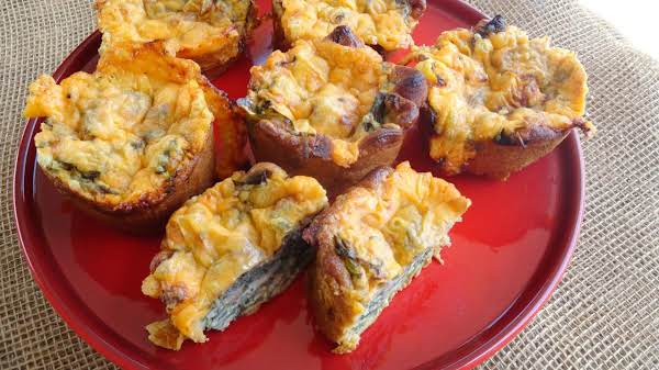 Spinach Quiche Muffins Recipe