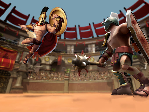 Gladiator Heroes Clash: Fighting and strategy game  screenshots 11