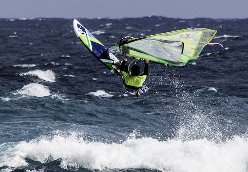 Windsurfing by Jim Keating - Sports & Fitness Watersports ( surfing, lanzarote, ocean, surf, windsurfing,  )