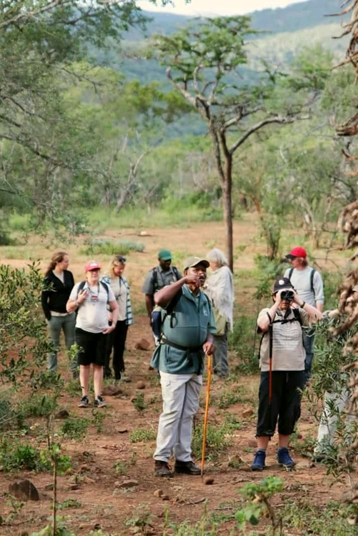 Some of the visitors who traveled from far to explore the beauty of Somkhanda private game reserve.