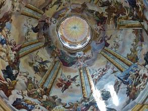 Photo: Kloster Melk: Siftskirche St. Petrus und Paulus: Kuppelfresko: Das Himmlische Jerusalem von Rottmayr.
