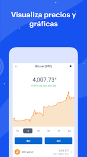 Coinbase - Bitcoin Wallet Screenshot