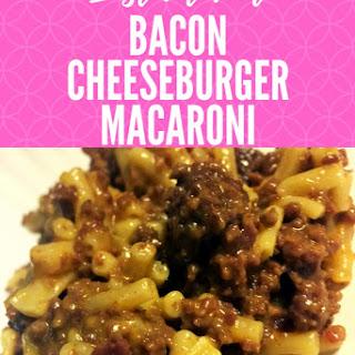 Instant Pot Bacon Cheeseburger Macaroni Recipe