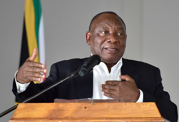 The move could cause clashes in the ANC, undermine President Cyril Ramaphosa and affect market sentiment. Picture: GCIS
