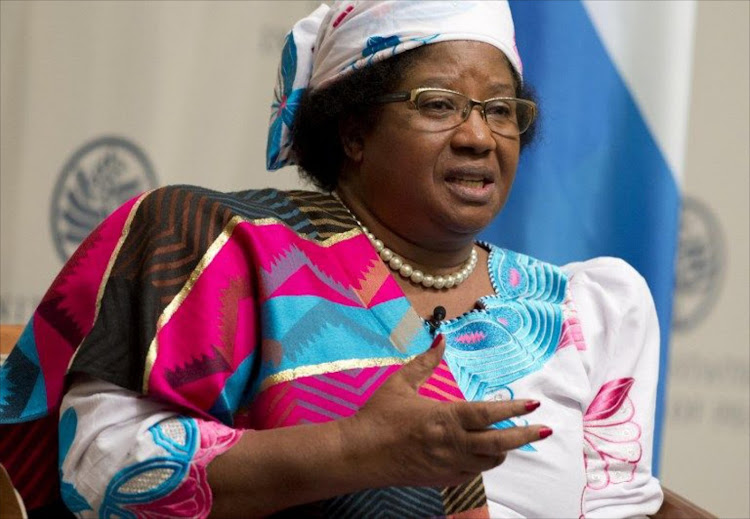 Former Malawi president Joyce Banda is to face off against incumbent president Peter Mutharika in the May elections. (File photo)