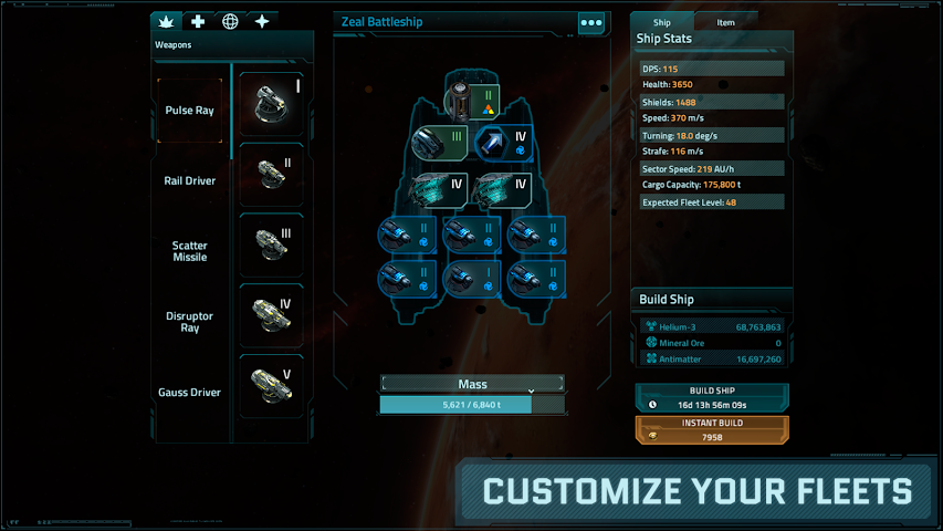 android VEGA Conflict Screenshot 17