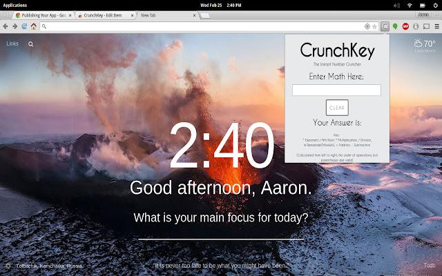 CrunchKey