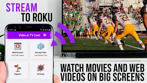 Video & TV Cast | Roku Remote & Movie Stream App 2.20 screenshots 1