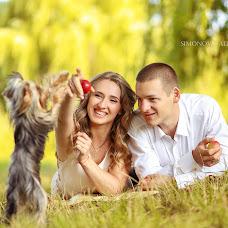 Wedding photographer Alina Simonova (Simondior). Photo of 06.07.2014