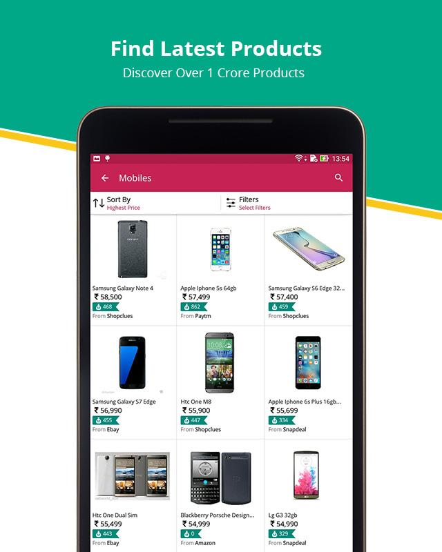 Compare Price, Deals, Cashback- screenshot