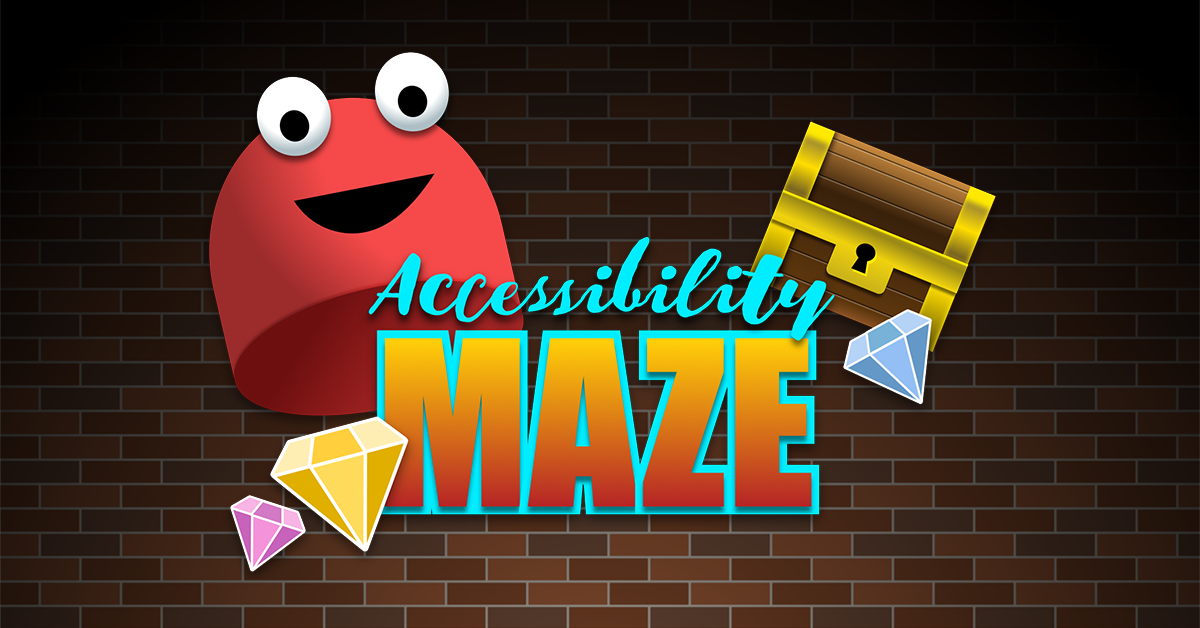 [Alt text - Screenshot of the Accessibility Maze ]