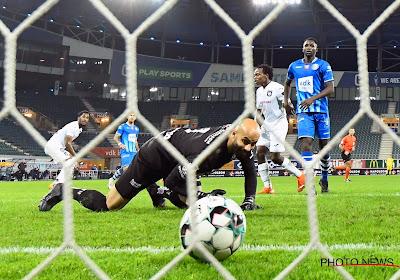 Anderlecht verliest op Gent weer punten in de slotfase