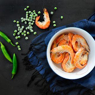 Spicy shrimp chowder (Chupe de camarones)