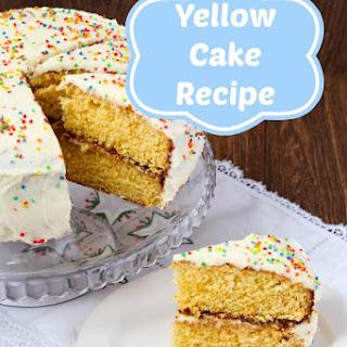 Plain Yellow Cake