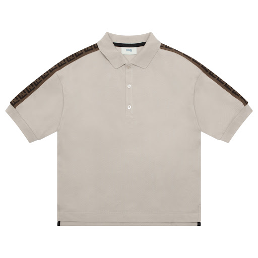 Primary image of Fendi Cotton Polo Shirt