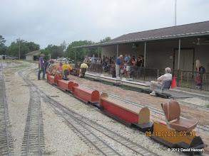 Photo: Loading at Cypress Creek Station.  HALS 2012-0818 David Hannah photo