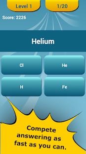 Periodic Table Quiz 18