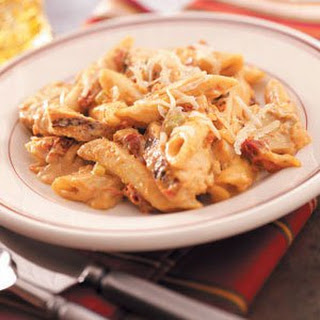 Penne Chicken with Sun-Dried Tomatoes Recipe