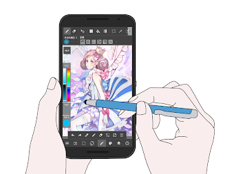 MediBang Paint - Make Art ! APK screenshot thumbnail 3