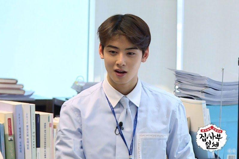 ASTRO's Cha Eunwoo Reveals His English Name And How He Got It