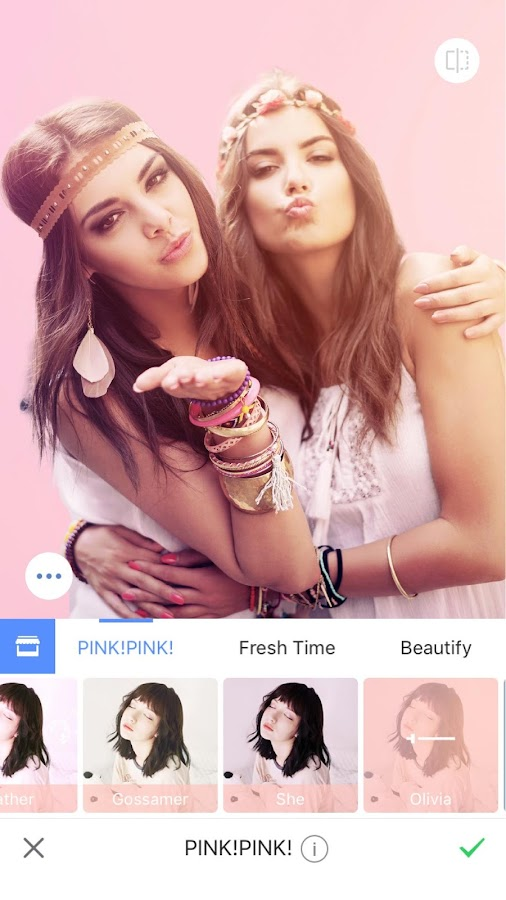 Meitu – Beauty Cam, Easy Photo Editor: captura de pantalla