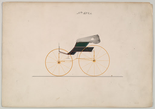 Design for Wagon, no. 694a