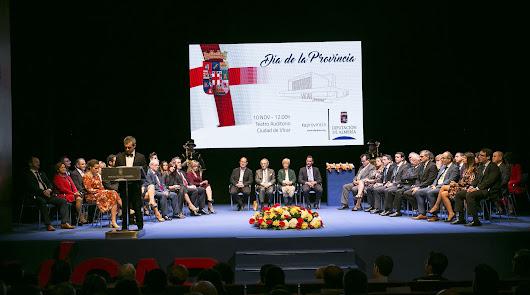 La Provincia celebra en Vícar su 'Día' cargado de solemnidad