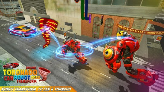 Robot tornado transform Shooting games 2020 4
