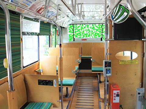 西鉄バス宗像「志賀島ぐりーん」 5718 車内