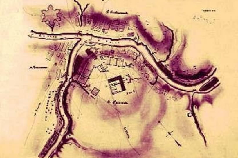 Мапа Ольвіополю, Богополю і Голти