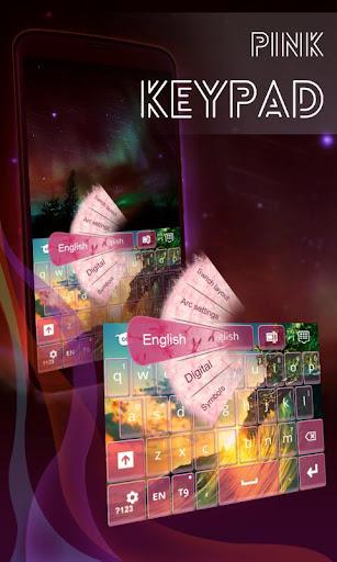 粉紅色的鍵盤為銀河S3的迷你