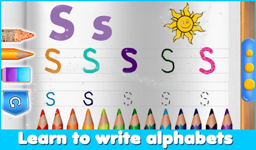 Tracing Letters Kids Game v1.0.1