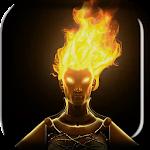 Fire Head Live Wallpaper