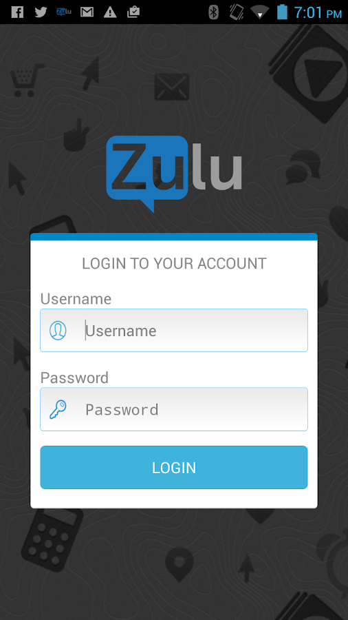 Zulu- screenshot