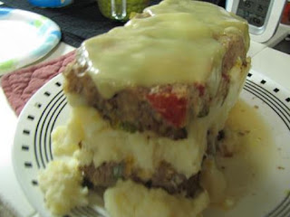 Mom's Meatloaf Cake Recipe