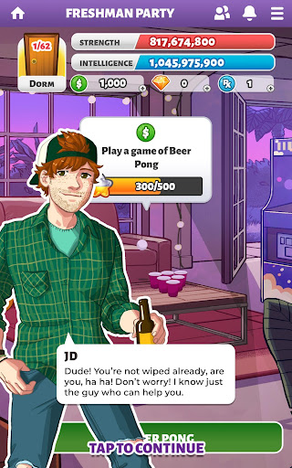 Party in my Dorm: College Life Roleplay Chat Game 5.95 screenshots 7