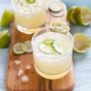 Summer Cucumber Jalapeño Margaritas.