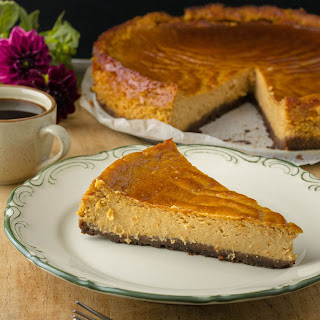 Coffee Pumpkin Cheesecake