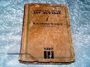 Photo: Catatan harian Raja Bone Andi Mappanyukki tahun 1937 dalam tulisan Lontara bahasa Makassar. http://nurkasim49.blogspot.com/2011/12/iii.html