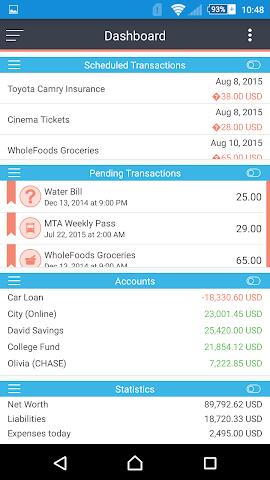 android MoneyWiz 2 - Personal Finance Screenshot 12