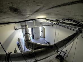 Photo: Système de ventilation. (Visite du 15 sept. 2014)