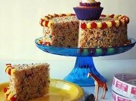Crispy Carnival Cake Recipe