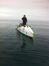 Photo: Rencontre en mer avec le Rameur des Glaces