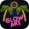 Glow Draw - Neon Art icon
