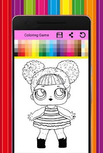 coloring book for dolls surprise HD - náhled