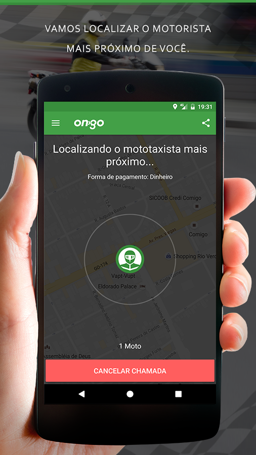 ON GO - Carro Particular, Táxi e mais- screenshot