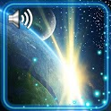 Space Blue Style Live Wallpaper icon