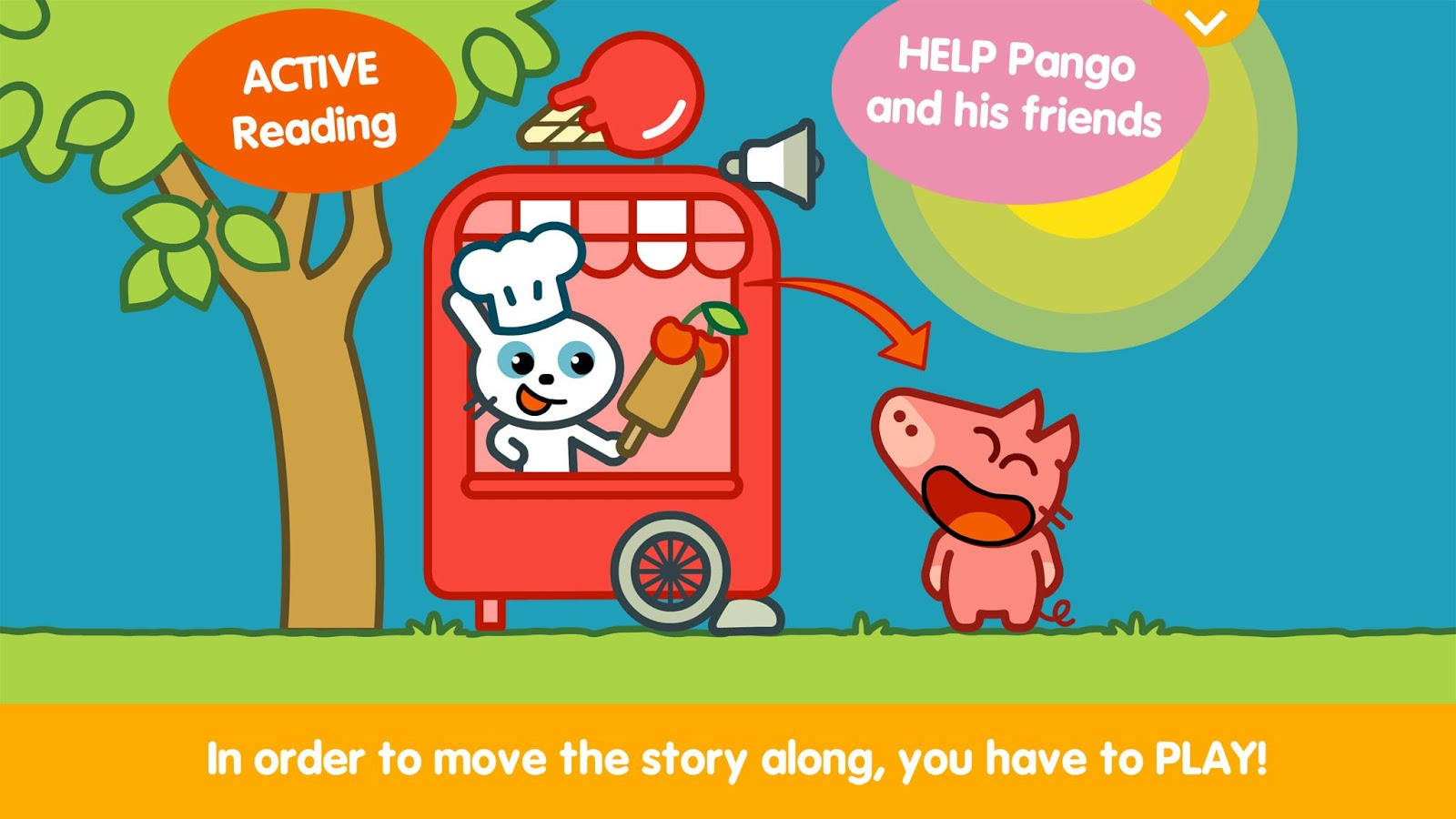 Pango Storytime- screenshot