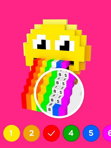Number Coloring – 3D No.Draw screenshot 11