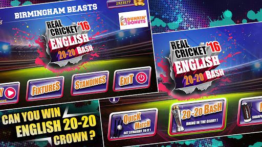 Real Cricketu2122 16: English Bash 1.7 Screenshots 4